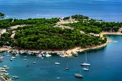 Pakostane in Croatia Royalty Free Stock Photos