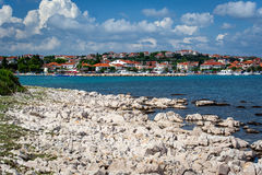 Pakostane in Croatia Royalty Free Stock Photos