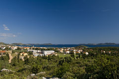 Pakostane Panorama From The Hill Royalty Free Stock Photos