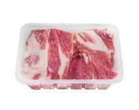 Pakować dla mięsa Fotografia Royalty Free