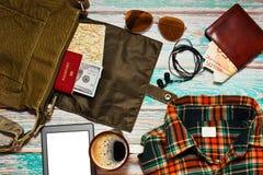 Pakować podróży torby pojęcie Obrazy Stock