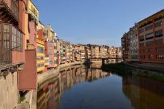 pakować Catalonia de Girona l onyar Spain Obrazy Stock