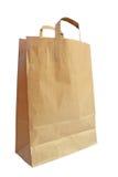 Pakpapier het winkelen zak Royalty-vrije Stock Afbeelding