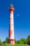 Pakri lighthouse under blue sky Stock Image