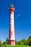 Pakri lighthouse under blue sky Stock Image