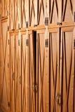 pakujący gabinetowy drzwi Obraz Stock