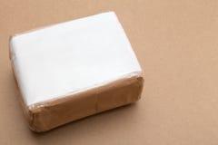 Pakunek dla transportu z kopii przestrzenią na wierzchołku zdjęcia stock