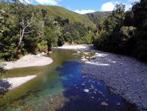 Fords of Isen; Pakuratahi River Stock Images