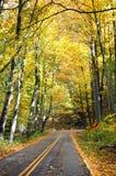 pakway jesieni blue ridge Zdjęcia Royalty Free