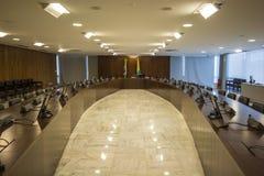 Palácio做Planalto -巴西利亚- DF -巴西 免版税库存图片