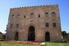 Palácio árabe de Zisa, Palermo Fotos de Stock Royalty Free