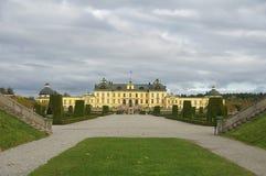 Palácio Éstocolmo de Drottningholm Fotos de Stock Royalty Free