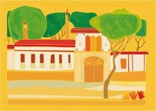 Palácio abstrato Imagem de Stock Royalty Free