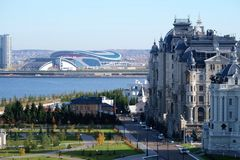 Palácio agrícola, Kremlin de Kazan, Kazan Rússia Imagem de Stock Royalty Free