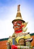 Palácio antigo em Tailândia Fotos de Stock