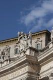 Palácio apostólico Imagem de Stock