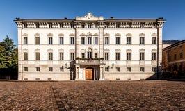 Palácio arquiepiscopal, Trient Foto de Stock Royalty Free