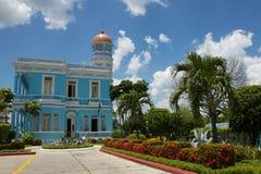 Palácio azul Imagem de Stock