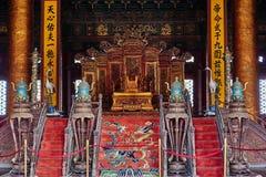 Palácio a Cidade Proibida de Taihedian Hall Of Supreme Harmony Imperial Imagem de Stock