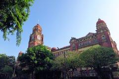 Palácio colonial britânico em Yangon, Myanmar Fotografia de Stock Royalty Free