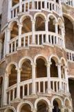 Palácio Contarini del Bovolo, escadaria espiral gótico em Veneza foto de stock