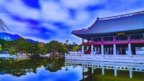 Palácio coreano Seoul Coreia Imagens de Stock Royalty Free
