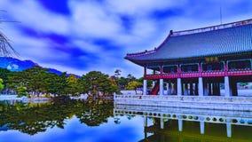 Palácio coreano Seoul Coreia Fotografia de Stock Royalty Free