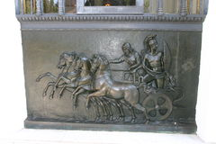 Palácio Corfu de Achillion Fotos de Stock Royalty Free