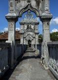 Palácio da água de Taman Ujung Soekasada Imagem de Stock Royalty Free