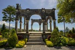 Palácio da água de Taman Ujung Soekasada Imagens de Stock