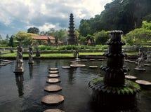 Palácio da água do Balinese Imagem de Stock Royalty Free