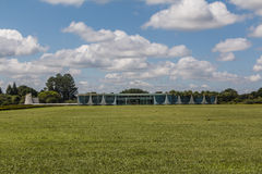 Palácio da Alvorada - Brasília - DF - Brazil. Palácio da Alvorada (Alvorada Palace) - Official residence of the President of Brazil - Brasília royalty free stock photo