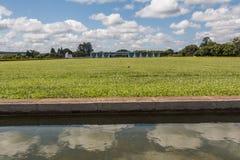 Palácio da Alvorada - Brasília - DF - Brazil. Palácio da Alvorada (Alvorada Palace) - Official residence of the President of Brazil - Brasília stock images