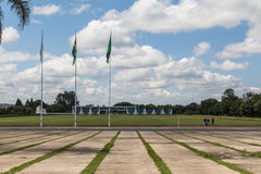 Palácio da Alvorada - Brasília - DF - Brazil. Palácio da Alvorada (Alvorada Palace) - Official residence of the President of Brazil - Brasília stock photography