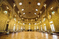 Palácio da bolsa de valores de Porto Imagem de Stock