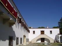 Palácio da construção histórica Imagens de Stock Royalty Free