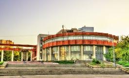 Palácio da cultura de trabalhadores Railway em Chisinau fotografia de stock