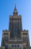 Palácio da cultura e da ciência, Varsóvia, Polônia Imagens de Stock