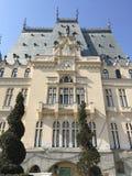 Palácio da cultura em Iasi (Roménia) imagens de stock royalty free