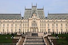 Palácio da cultura em Iasi, Romênia foto de stock