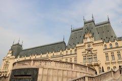 Palácio da cultura em Iasi, Romênia imagens de stock royalty free