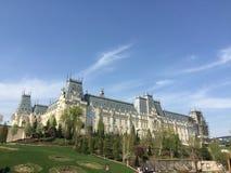 Palácio da cultura em Iasi, Romênia foto de stock royalty free