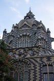 Palácio da cultura em medellin, Colômbia foto de stock royalty free