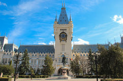 Palácio da cultura, Iasi, Romênia foto de stock