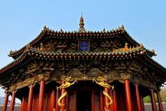 Palácio da dinastia de Qing (palácio do dazheng) Fotografia de Stock