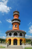 Palácio da dor do estrondo na província de Ayutthaya, Tailândia Fotos de Stock