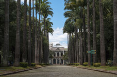 Palácio Da Liberdade. At the Praça da Liberdade in Belo Horizonte. This is where an historical building where the State Gov used to work royalty free stock images