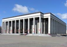 Palácio da república em Belarus fotos de stock royalty free