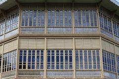 Palácio da teca Foto de Stock