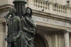 Palácio da universidade de Università do `do dell de CataniaPalazzo fotos de stock